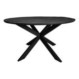 Eetkamertafel New York - Rond - Metaal met mangohout_