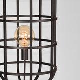 Vloerlamp Twine - Zwart - Metaal_