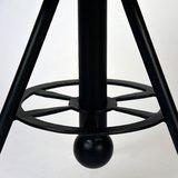 Bijzettafel Solid - Rough - Mangohout - Rond - 45 cm_