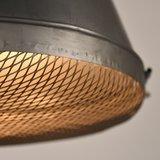 Hanglamp Gaas - Grijs - Metaal - L_