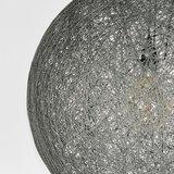 Hanglamp Twist - Grijs - Vlas - XL_