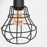 Tafellamp Drop - Zwart - Mangohout_