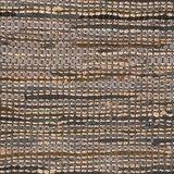 Vloerkleed Brisk - Antraciet - Natuurlijk materiaal - 160x140 cm_