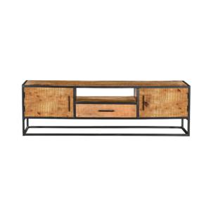 Tv-meubel Denver - Bruin - metaal - 180cm