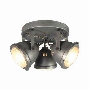Spot Moto - Burned Steel - Metaal - 3 Lichts