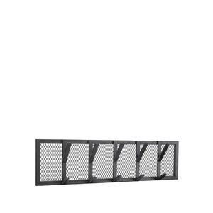 Kapstok Gruff - Zwart - Metaal - L
