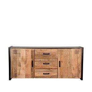 Dressoir Lock - Rough - Mangohout - 190 cm