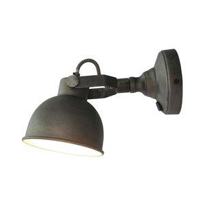 Wandlamp Bow - Grijs - Metaal - L