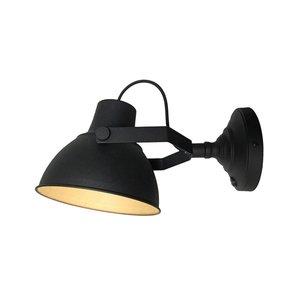 Wandlamp Raw - Zwart - Metaal - XL