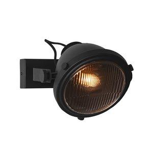 Wandlamp Tuk-Tuk - Zwart - Metaal