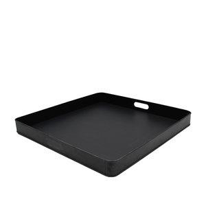 Dienblad - Zwart - Metaal - XL