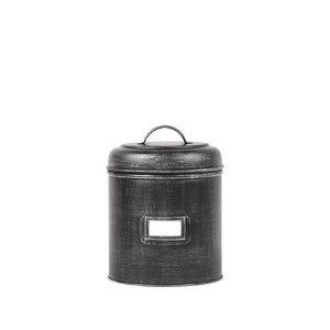 Opbergblik Opbergblik - Zwart - Metaal - 10 x 15 x 10