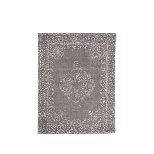 Vloerkleed Vintage - Antraciet - Katoen - 140x160 cm