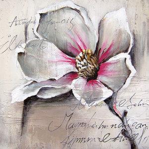 Flowerser pink white