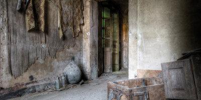 Door wall textiles/Chest