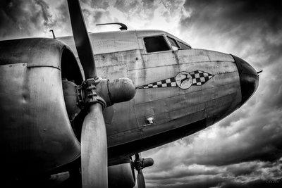 Airplane II, b/w