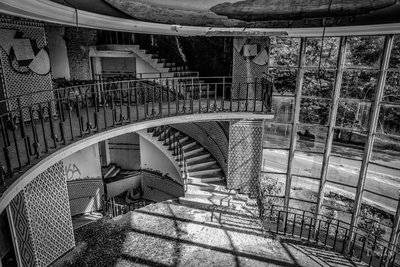 Abandoned Pool Upstairs