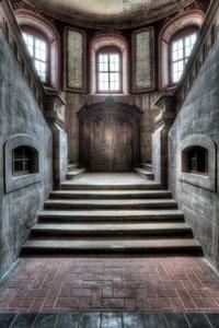 Brick Staircase