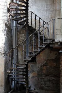 Metal Stairs Vertical