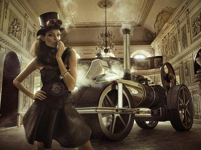 Steam glamour