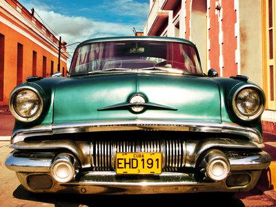 Vintage American car in Habana