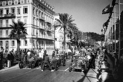 Depart du Grand Prix Nice
