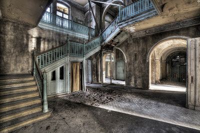 Hall Long Stairs