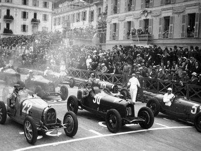 Le depart Grand Prix Monaco
